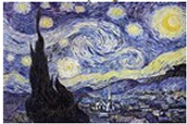 """The Starry Night"" Painting"