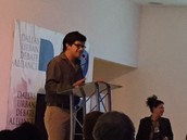Zeles Vargas was named  Debater of the Year by the Dallas Urban Debate Alliance