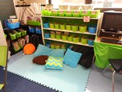 Take a look at your classroom and make sure you have a comfortable place for students to read.