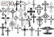 significado del tatuaje de la cruz
