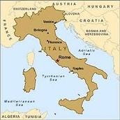 Ciudades en Italia