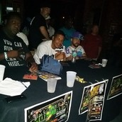 Judges during the My City Mondays hip hop event