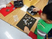 Sorting coins in Ginny Chaffee's K class