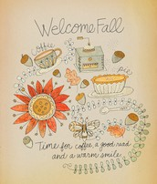 Welcome Fall! My Favorite Time of the Year!