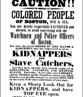 Northerners Protect the Colored People of Boston
