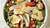 Starter- Fuji Apple Salad with Chicken