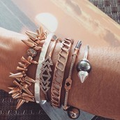 Resilience and Inspiration arm party