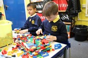 Enjoying Lego in Year 2