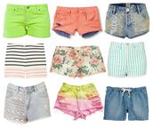panalones cortos