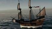 The Mayflower voyge
