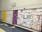 1st Grade Art Presentation with Mrs. Alianelli's Class