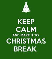 Christmas Break!!!!