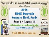 Outreach Summer Book Study