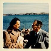 Walt & Artist Salvador Dali