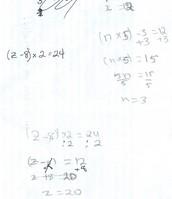 Some math work