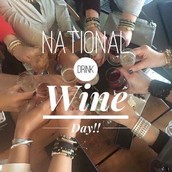 National Drink Wine Day - Thursday, 2/18