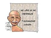 Mohandas Gandhi Leads a Movement