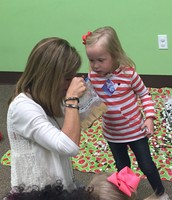 """Addison cracked us up when she  asked Heather to see if her snack smelled """"old"""" which was a clever way of getting goldfish"""