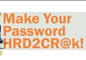Make your password strong and secure