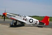 P-51 mustang (red tail)