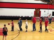 Middle School Night at Varsity Basketball