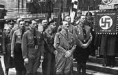 Nazi party holds mass meeting