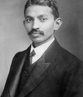 Gandhi at law school in London