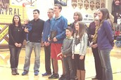 Kelly Stephen Sportsmanship Award Winner- Isaac Davison
