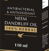 Anti-bacterial and Anti-dandruff Neem Hair Oil