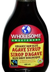 Wholesome Organic Blue Agave Syrup 480ml 7.99!