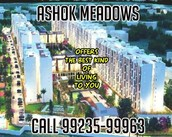 Ashok Meadows Location By Peninsula Land Is The Exclusive Arrangement Of The Thing