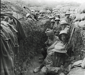 Psychological effects on soldiers involved in trench warfare