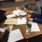 Ms. Ivory's class planning their levees