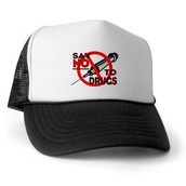 say no to drugs hat