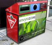 Canada Recycle zones