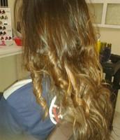 Ombre hair Caramelo