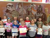 Mr. Loehmer's Star Wars Artwork Inspires Kindergarten Students