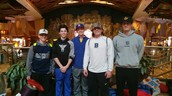 These 5 Barons attended a baseball clinic together in Connecticut.
