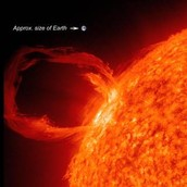 Solar Prominence- http://www.nasa.gov/mission_pages/sunearth/spaceweather/index.html