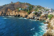 Mexican resort town