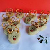Sugar Raindeer Cookies