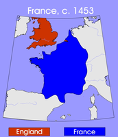 France and England, 1453