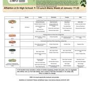 Grade 9-12 January 20-23
