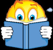 I love reading (if the smiley do it you should to ).