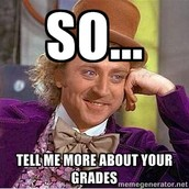 Conversations- How are your grades?