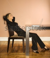 Slouching in Chair