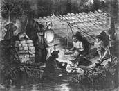 Ex-slaves hiding