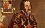 Hernán in his Armor