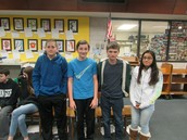 Geography Bee 8th Grade Finalists