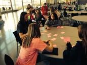 Algebra Students Practice Math Vocab